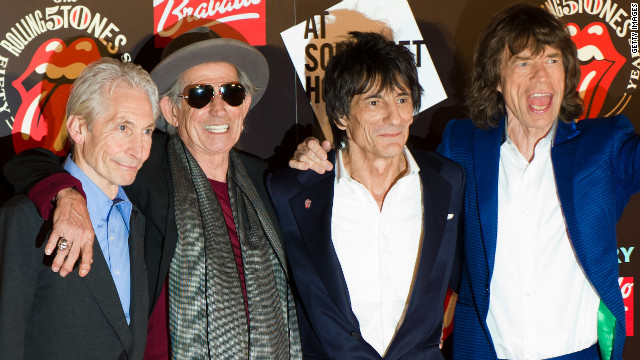 Rolling Stones play surprise concert