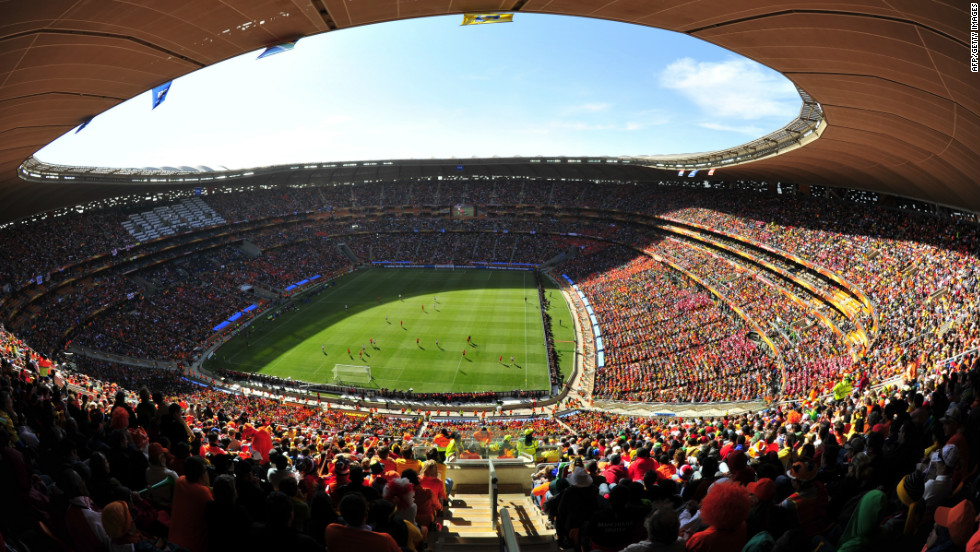 The final of the Africa Nations Cup will be played in Johannesburg's Soccer City stadium, which hosted the 2010 World Cup final, on February 10 2013.