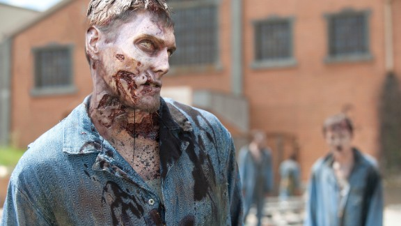 """Fantastic-looking zombies that terrorize characters on """"The Walking Dead"""" have made the AMC show a popular TV series."""