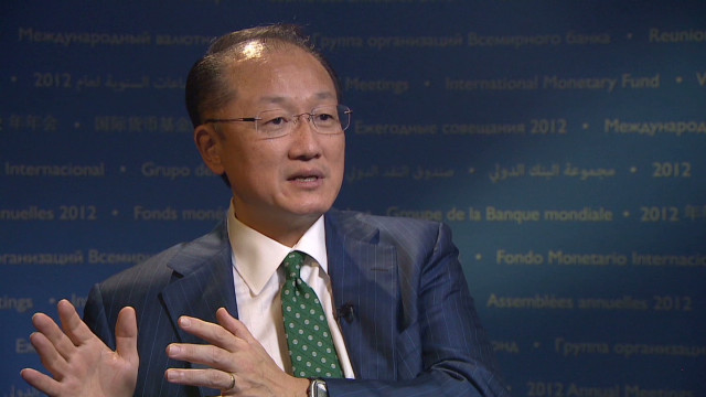 World Bank goal: 'Bend arc' on poverty