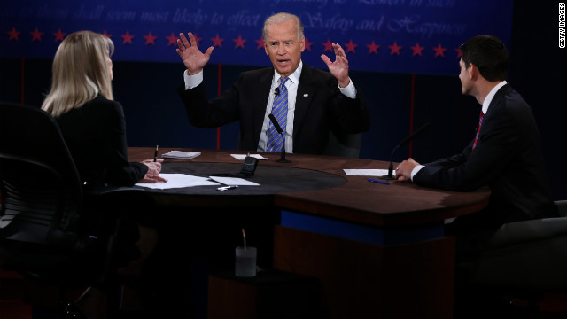 Joe Biden dominated the vice presidential debate, even when wound up, says debate coach Todd Graham.