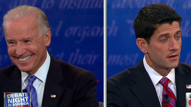 Biden, Ryan argue over Bush tax cuts
