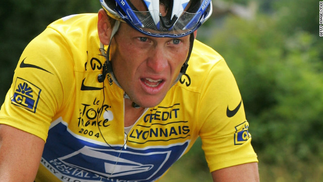 Lance Armstrong won the Tour de France seven times, but he later admitted to using performance-enhancing drugs.