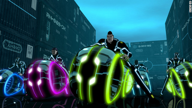 """Tron: Uprising"" is an animated series that builds on the popularity of the original film."