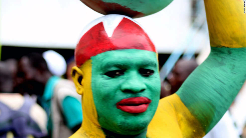 After a 1-1 draw with Gabon in the first leg, Togo's fans were hopeful of reaching January's Africa Cup of Nations ahead of Sunday's second leg.