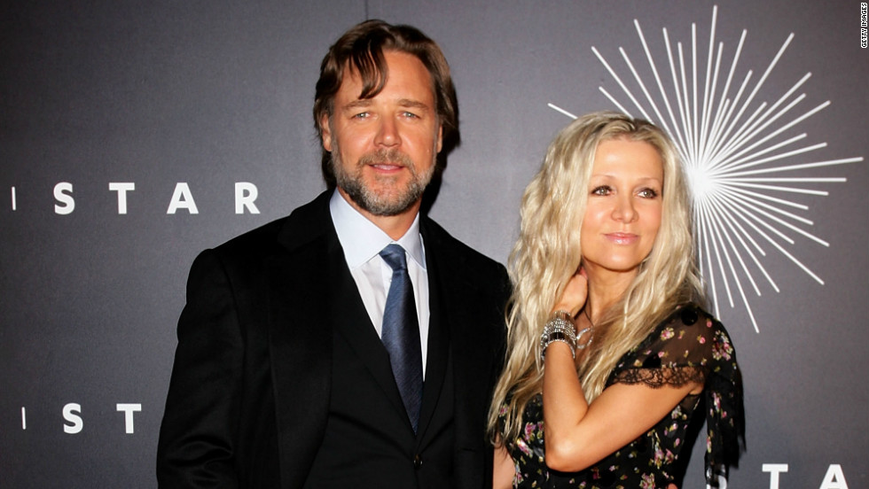 Hollywood Divorce Russell Crowe and Danielle Spencer | Save
