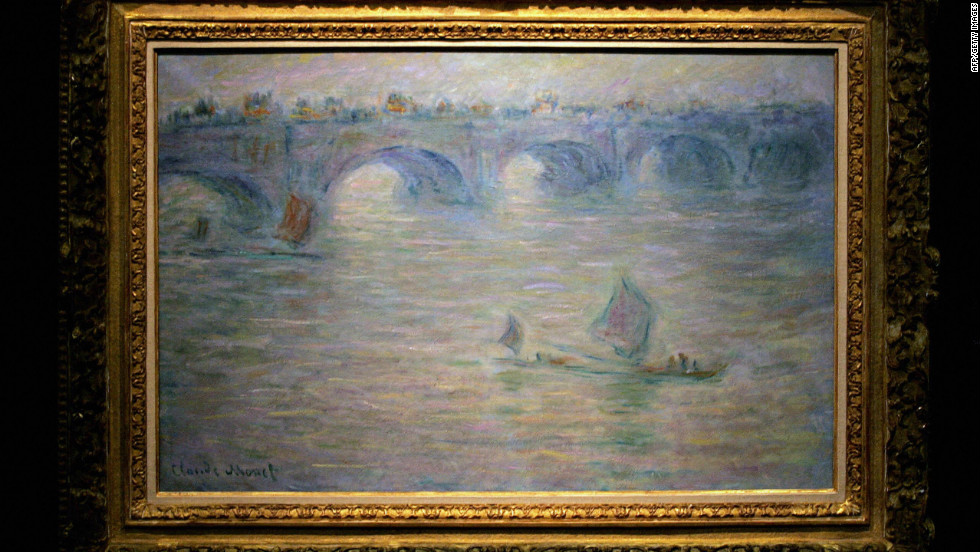 "Claude Monet's ""Waterloo Bridge, London"" was also taken during the pre-dawn heist."