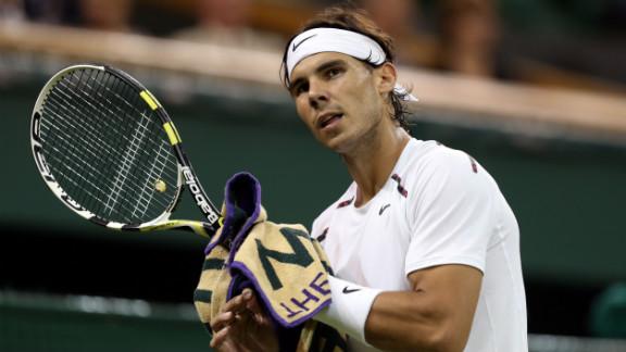 Former world No. 1 Rafael Nadal hasn