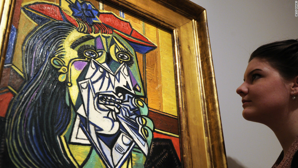 "Pablo Picasso's 1937 painting ""Weeping Woman"" depicted long-time mistress Dora Maar. Their notoriously tempestuous relationship lasted nine years."