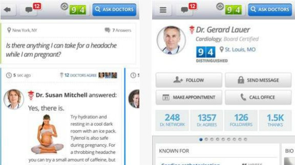 HealthTap: (free, healthtap.com) HealthTap is a mobile health care Q&A station. Users can write and submit their own questions and then get an answer from a real-life doctor -- who is required to show proof of a valid medical license to register. (iPhone, iPod Touch, iPhone, Android)