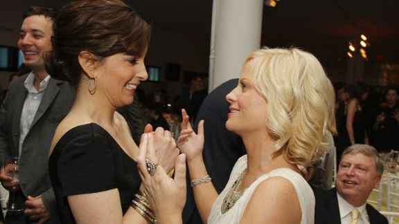 """The women promote """"Baby Mama"""" at the 2008 Tribeca Film Festival."""