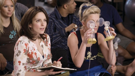 "Fey and Poehler co-starred in the 2008 film ""Baby Mama."" When Fey"