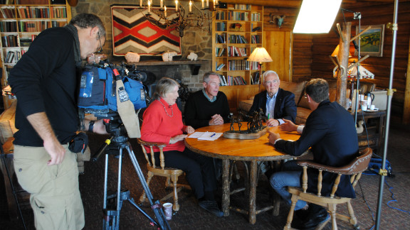 Sitting down with local political commentators Felicia Muftic, Patrick Brower and William Hamilton.