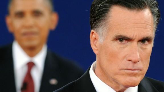 """Mitt Romney's """"binders full of women"""" phrase went viral."""