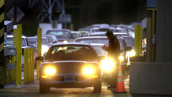 Canadian authorities closed the border crossing immediately after the shooting.