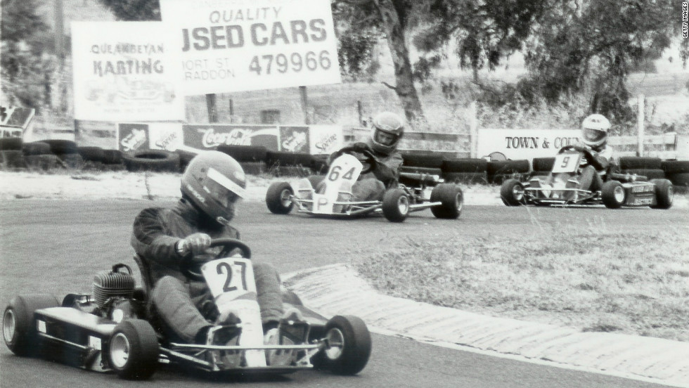 "Webber switched to karting as a 14-year-old and the move paid instant dividends as he won his state championship in New South Wales. The Australian describes the medium as ""very raw."""