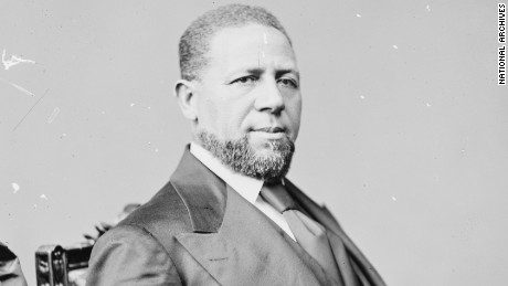 Hiram Rhodes Revels became the first African-American elected to the U.S. Senate in 1870.
