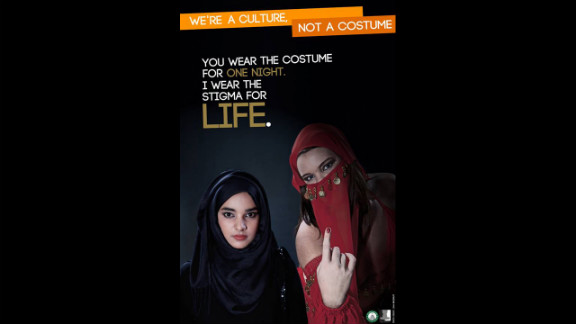 A Muslim stereotype is also featured.