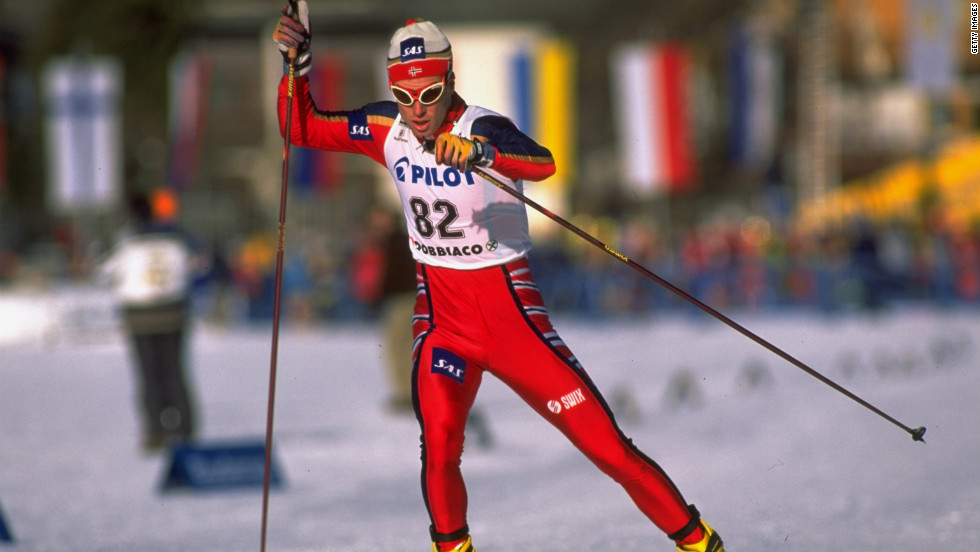 "Those who have tried cross-country skiing know it is not for the faint of heart. Norway's Bjoern Daehlie earned 12 Olympic medals -- eight of them gold -- before retiring in 1999. Who else made the list? Check out all 100 <a href=""http://www.menshealth.com/fitness/fittest-men-ever"" target=""_blank"">on Men's Health</a>."