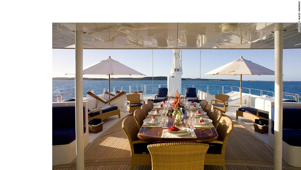 Despite the pressures, for many superyacht chefs it's a rare dream job which can pay up to $13,000-a-month to travel the world on a luxury vessel.