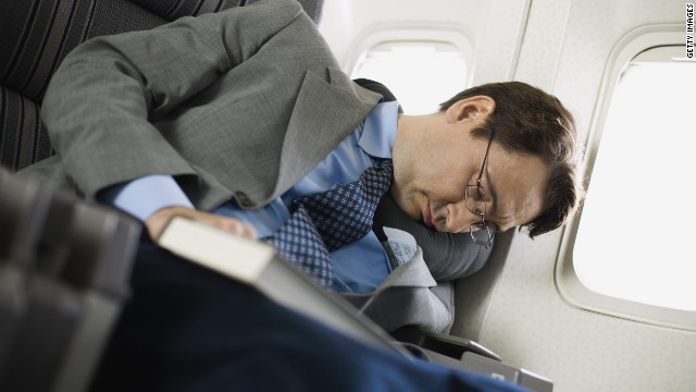 Failing to get some much needed sleep while flying could have a negative impact on a business trip