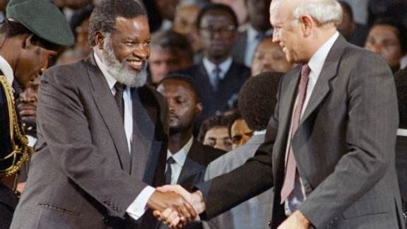 Sam Nujoma became the first president of an independent Namibia. He was head of the South West Africa People