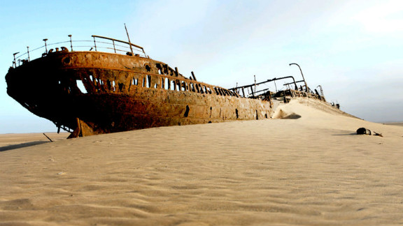 Along the northwest of the country, the Skeleton Coast is one Namibia