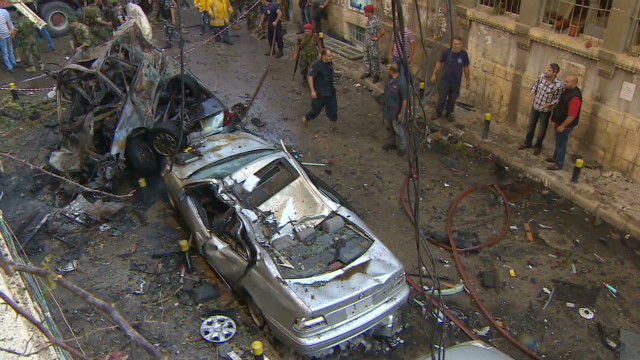 Beirut blast aftermath