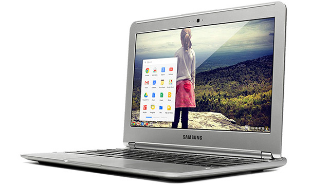 The new $250 Chromebook laptop from Google, made by Samsung.