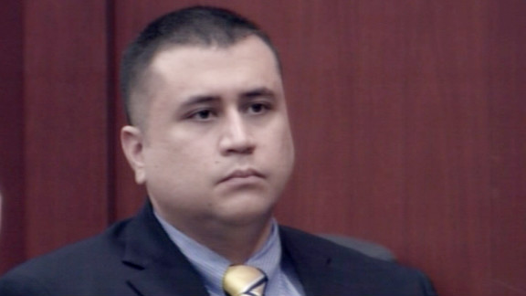George Zimmerman, shown in October 2012, has maintained he shot Trayvon Martin in self-defense.