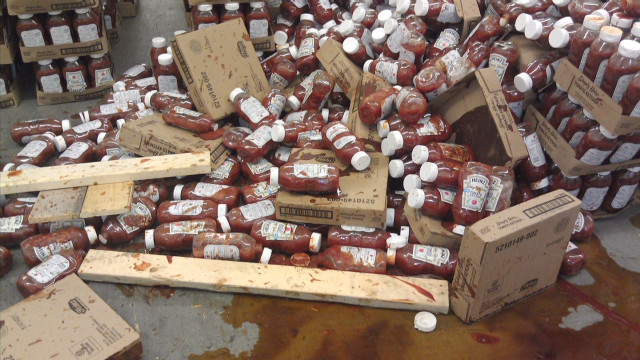 50,000 lbs. of counterfeit ketchup found