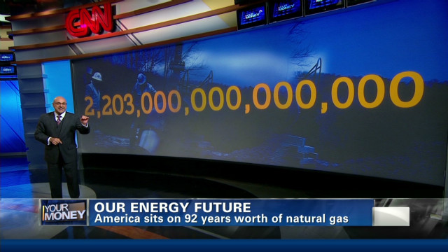U.S. energy future: Going natural