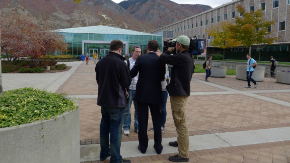 The Brigham Young University students have signed the Honor Code which requires them to be, among other things, honest, true, chaste, benevolent and virtuous.