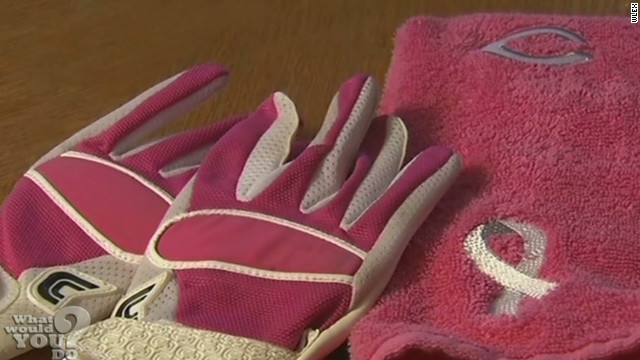 H.S. football player punished for pink