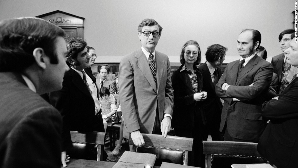Rodham was a lawyer on the House Judiciary Committee, whose work led to impeachment charges against President Richard Nixon in 1974.
