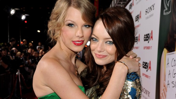 """I'm the kind of girl who needs to tell her friends everything. I've developed this really close-knit group of girls. ... I met Emma (Stone, pictured) when I was 17, and I met Selena (Gomez) when I was 18. ... Somehow through all of it, we've stayed close. "" -- Glamour, 2012"