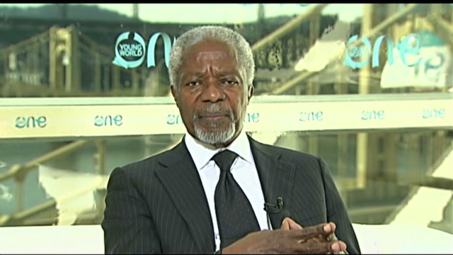 Annan: 'I cry everyday for the Syrians'