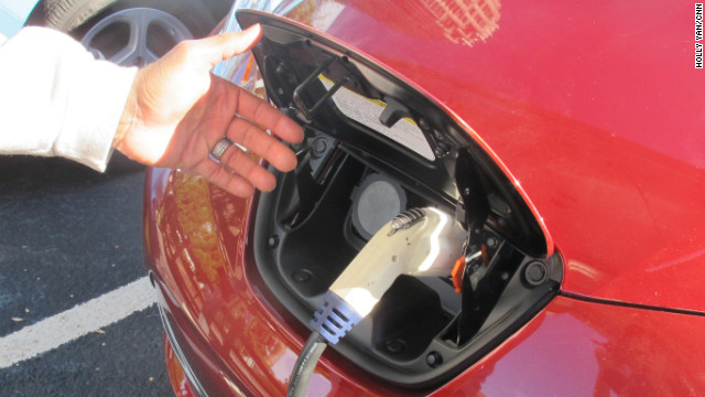 Charging An Electric Car Is Much Like Filling Up With Gas As Randy Stanley Demonstrates