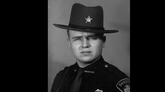 Pickaway County Sheriff Dwight E. Radcliff (shown in 1954) is the longest-serving sheriff in the United States.