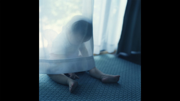 Rinko Kawauchi chose Sally Mann's acclaimed Immediate Family series, in which Mann uses as subjects her children (a boy, a girl and a new baby), often shot when they're sick or hurt or naked. Like Mann, the Japanese photographer used her children as subjects.