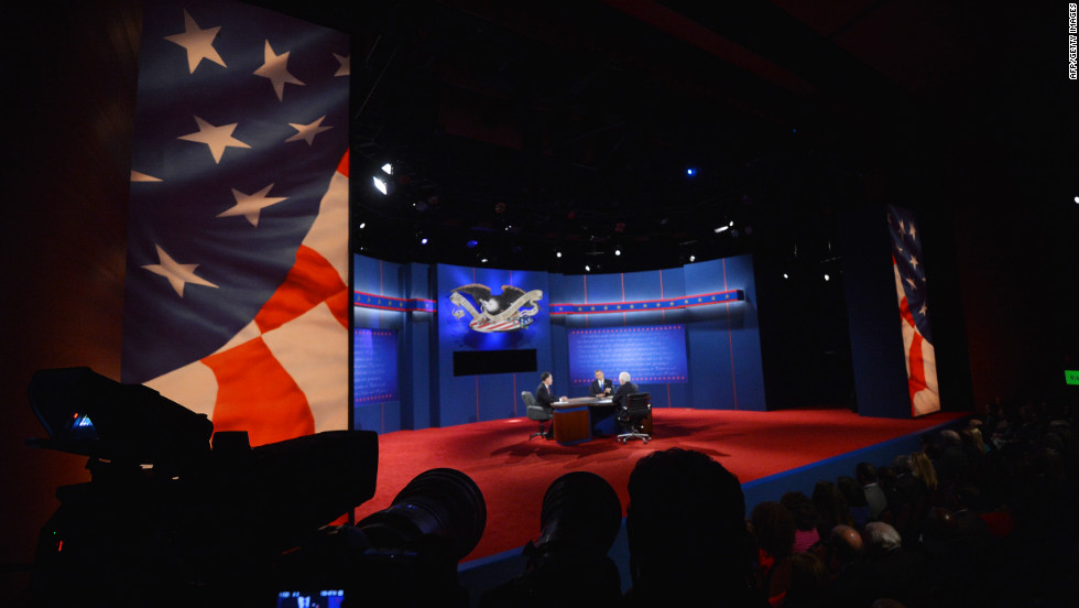 Monday's debate promised to be among the most-watched 90 minutes of the entire 2012 presidential campaign.