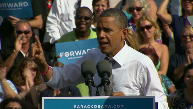 Obama warns of 'stage 3 Romnesia'
