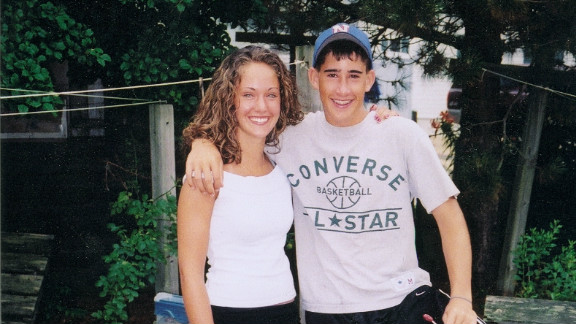 Martin McGowan and his sister Nadean during a summer vacation in 2004. Martin died the following year at 15.