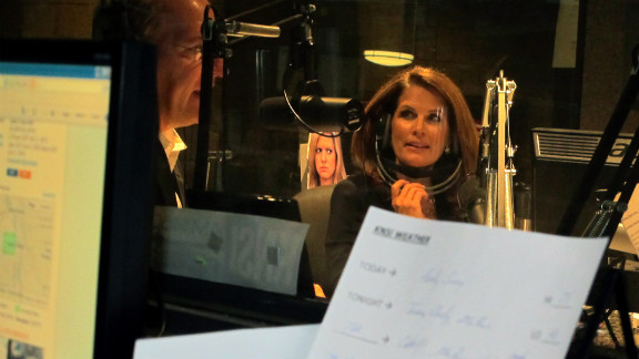 """""""Government has no interest or willingness to balance its books,"""" Bachmann told a radio audience."""