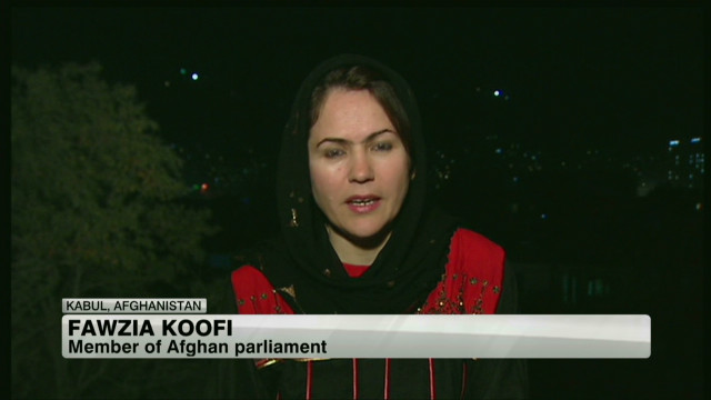 Afghanistan's first female president?