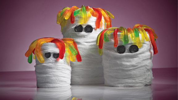 At the end of their lives as food containers, cans can turn into ghastly mummies.