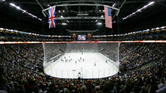 The NHL has also staged games in London, the first coming in 2007 when the Anaheim Ducks squared off against the Los Angeles Kings.