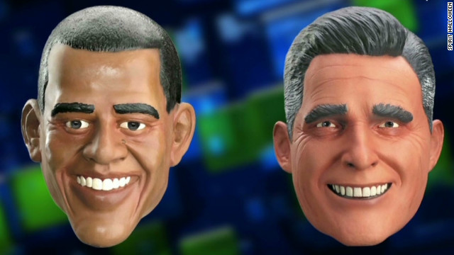 Halloween masks and the election