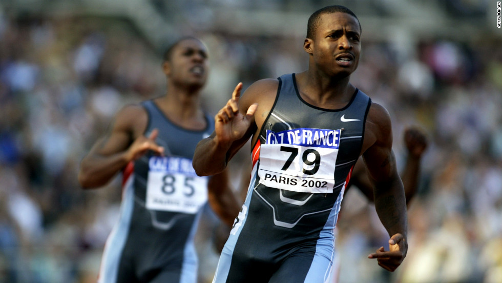 Sprinter Tim Montgomery set the world record in the 100-meter dash in 2002, but the time was scratched after he was found to have used performance-enhancing drugs. Since his retirement, he has had other legal troubles including arrests for money laundering and heroin offenses. He was sentenced to jail time for both.