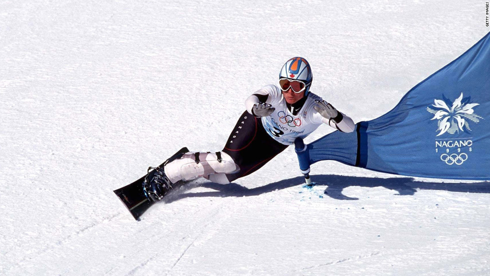 Ross Rebagliati won a gold medal during the first year of snowboarding at the 1988 Olympics. He was stripped of the medal after testing positive for the active ingredient in marijuana. It became fodder for late-night talk show jokes, but Rebagliati eventually got his medal back after it was determined marijuana was not a banned substance.